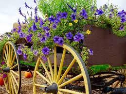 Yard Decoration Wagon Wheel Yard Decor For Sale