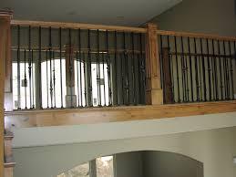 decorating lowes stair railing porch railings metal deck railing