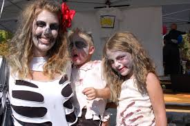 Zombie Family Halloween Costumes by Spooky Town Fair Fun For Families Beneficial For Teachers