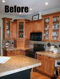 Transform Kitchen Cabinets by How To Transform Oak Kitchen Cabinets Kitchen