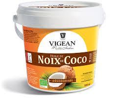 huile de noix de coco cuisine noix de coco bio désodorisée huilerie vigean