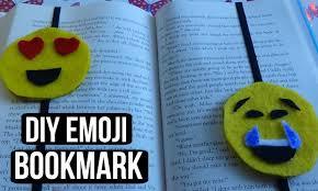 diy emoji bookmark diyingtotry youtube