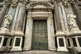 catholic church of catania sicily southern italy baroque