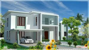 bedroom modern flat roof house design plans building plans