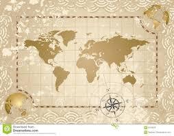 Vintage World Map Vintage World Map Stock Illustrations U2013 7 702 Vintage World Map