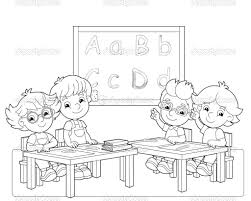 classroom rules coloring pages coloring pages online