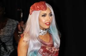 Butcher Halloween Costume Butchers Caution Lady Gaga U0027meat Dress U0027 Halloween