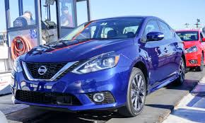 nissan sentra blue 2016 nissan sentra first drive review autonxt