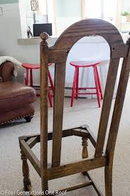 how to reupholster a dining room chair seat and back amaze to
