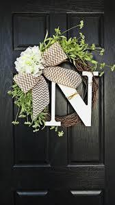 monogram wreath monogrammed wreaths for front door 291 best images on