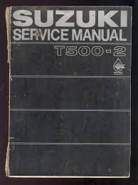 1969 suzuki t500 2 motorcycle service manual u2022 cad 47 07