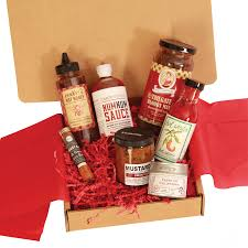 food gift boxes undiscovered kitchen s gift collection gourmet artisan bbq sauces
