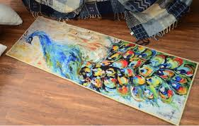 Peacock Area Rug Carpet Sewing Picture More Detailed Picture About 60x180cm