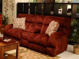Reclining Loveseat W Console Siesta 3 Piece Power Lay Flat Reclining Sectional In