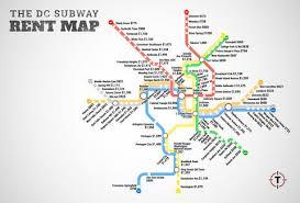 washington subway map washington dc metro rent map thrillist