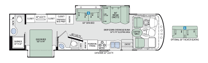 Rv Floor Plans Class A Thor Class A Motorhomes Rv Models Specifications Photo Gallery