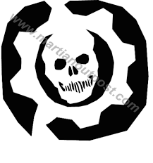 halloween halloween pumpkin stencils photo ideas gears of war