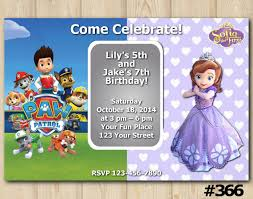 paw patrol and sofia the first