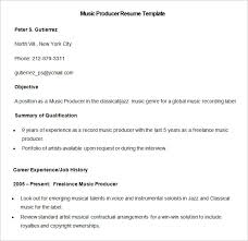 Production Resume Examples by Media Resume Template U2013 31 Free Samples Examples Format