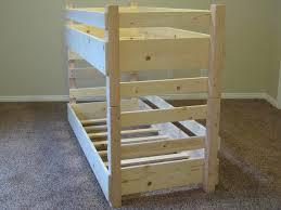 Diy Toddler Bunk Beds Diy Bunk Beds Toddler Bed Plans Fits Crib Tierra Este 20728