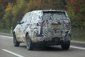 new land rover defender spy shots 2017 land rover discovery 5 shows up for its first spy shots ever