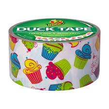 Halloween Duct Tape Crafts Printed Duct Tape Cupcake 1 88 In X 10 Yd Duck Brand