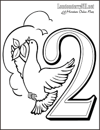 bunch ideas of 12 days of christmas coloring pages about free