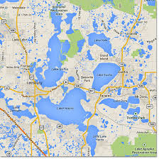 Florida lakes images Harris chain florida bass fishing overview jpg