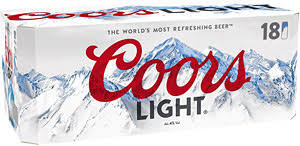 coors light 18 pack coors light 18x440ml compare prices buy online mysupermarket
