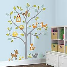 Nursery Wall Tree Decals Baby Wall Decals Wall Murals Stickers For Buybuy Baby