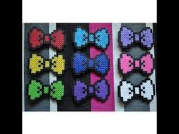 hello bow perler bead hello themed bow tutorial d episode 1