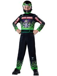 grave digger monster truck driver amazon com monster jam grave digger costume size 6 small toys