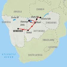 Zimbabwe Map Zimbabwe Tours And Safari Holidays On The Go Tours Au