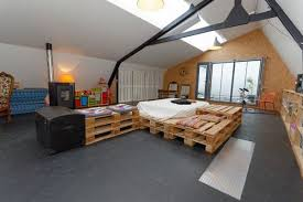 Pallet Bedroom Furniture Pallet Addicted 30 Bed Frames Made Of Recycled Pallets