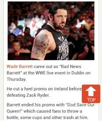 Bad News Barrett Meme - 25 best memes about bad news barrett bad news barrett memes