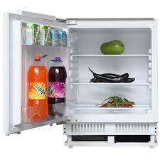 cookology fully integrated 60cm under counter fridge freezer