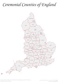 A Map Of England by What Would The Regions Of England Look Like In A Federal Uk