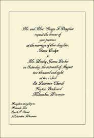 how to write a wedding invitation sle wedding invitations the wedding specialiststhe wedding