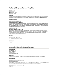 Resume Format For Freshers Mechanical Engineers Pdf Automobile Resume Samples Mechanical Engineer Format Engineering