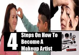 Become A Makeup Artist 4 Steps On How To Become A Makeup Artist Career Opportunities As