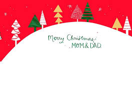 mom dad grown child christmas card greeting cards