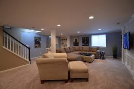 Finishing Basement Walls Ideas Finished Basement Ideas With Beautiful Touch Stanleydaily Com