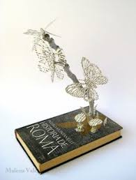Upcycle Old Books - book sculptures are my passion i work with paper to create