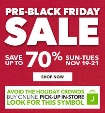 jo fabric and craft store get ready pre black friday sale