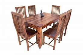 pencil leg table and chairs buy 6 seater pencil dining table with upholstery chair dining room