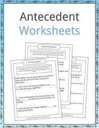 Flag Day Reading Comprehension Worksheets Antecedent Examples Definition And Worksheets Kidskonnect