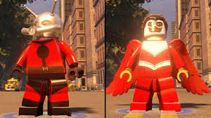 lego marvel u0027s avengers ant man vs falcon coop fight free