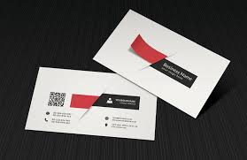 3d business cards modern business card with 3d shapes psd file