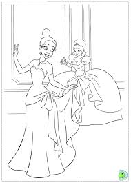 Princess And The Frog Coloring Pages Princess And The Frog Colouring Pages