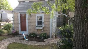 Backyard Cottage Inside The Tiniest Cottage For Rent On Cape Cod Curbed Cape Cod
